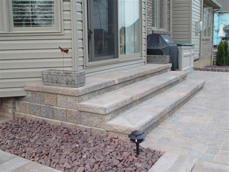 Paver Patio Steps Brick Paving Macomb County Landscaping Design Brick Paving Macomb And Oakland County Mi