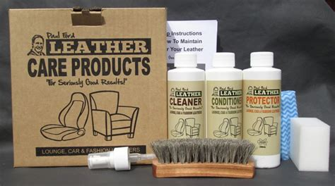 leather care repair and restoration products paul ford