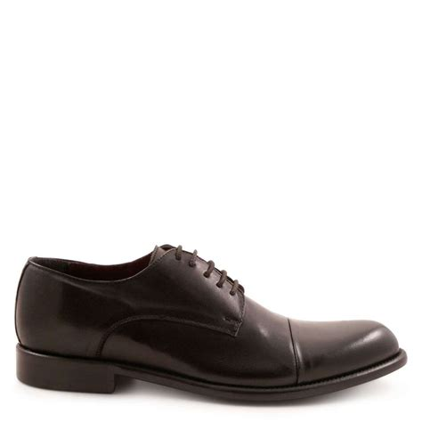 Mens Shoes Handmade - handmade s derby shoes in genuine leather leonardo