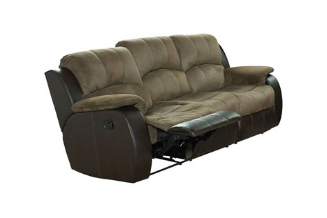 microfiber couch recliner lorenzo microfiber reclining sofa