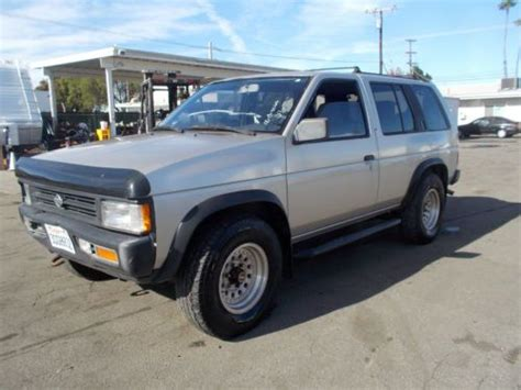 used nissan pathfinder 4x4 for sale sell used 1995 nissan pathfinder xe 4x4 no reserve in