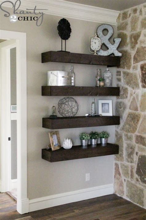 how to build floating shelves top 10 projects of 2014 shanty 2 chic