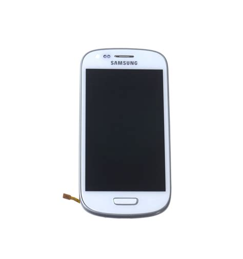 Mini Samsung lcd touch screen front panel white oem for samsung galaxy s3 mini i8190 lcdpartner
