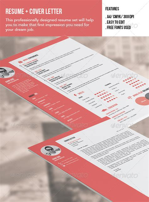 Memo Template Graphicriver indesign resume and cover letter template 187 tinkytyler org