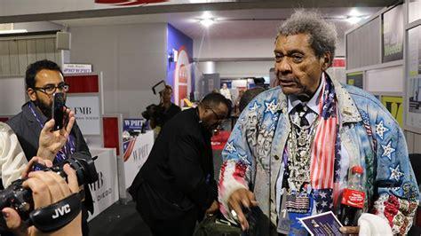 Don King Criminal Record Don King At Rnc Despite Being Turned To Speak Chicago Tonight Wttw