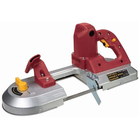 portable band saw portable band saw variable speed held bandsaw metal steel cutting ebay