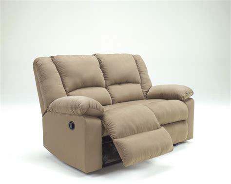 reclining loveseat ashley furniture 9560286 ashley furniture patrickson mocha reclining