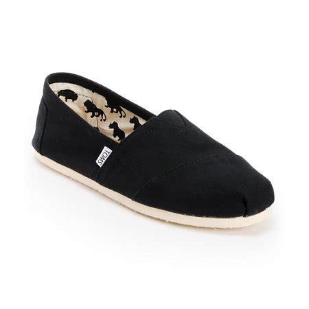 Toms Shoes Gift Card Balance - toms shoes men s classic black shoes at zumiez pdp