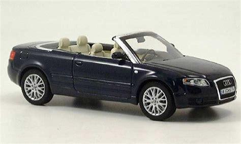 Diecast Audi A4 Midnight Blue Skala 1 43 By Minichs Audi A4 Cabriolet Convertible Blue Norev Diecast Model Car