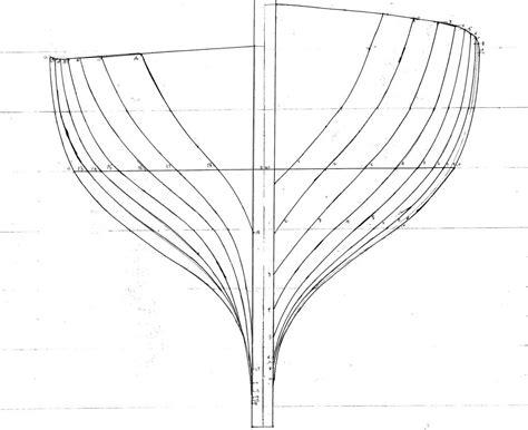 boat hull drawing galley hull desgin boat design net