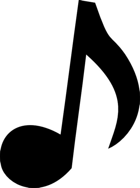Musical Note 2 Clip Art at Clker.com - vector clip art