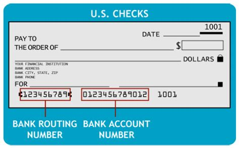 where to find routing number on check