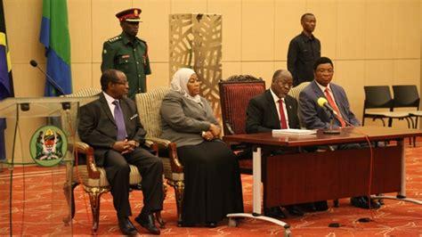 Tanzania New Cabinet by Tanzania S Magufuli Announces Cabinet Half The Size Of His
