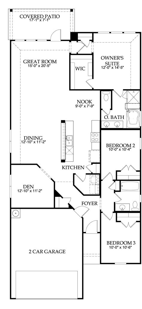 pulte homes floor plans texas centex homes floor plans 2006