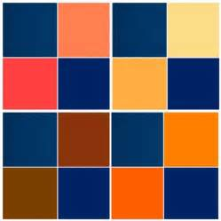colors that compliment orange what colors complement royal blue quora