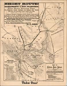 union pacific railroad map california map of california pacific railroad showing its relative