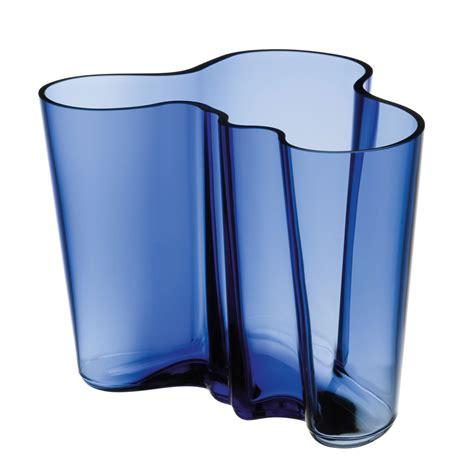iittala aalto ultramarine finland 100 vase 6 1 4