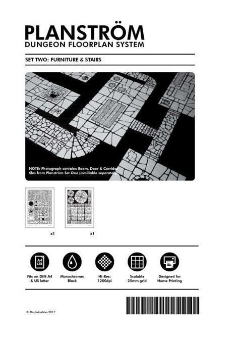 dungeon floor plans pdf planstrom dungeon floorplan system set 2 zhu industries drivethrurpg