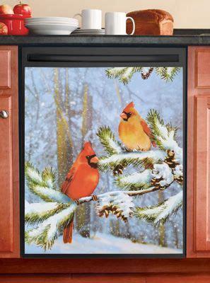 cardinals  snow kitchen dishwasher magnet discover  ideas  dishwasher magnet