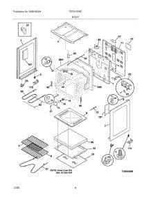 Parts For Tappan Tef351ewc Range Appliancepartspros Com