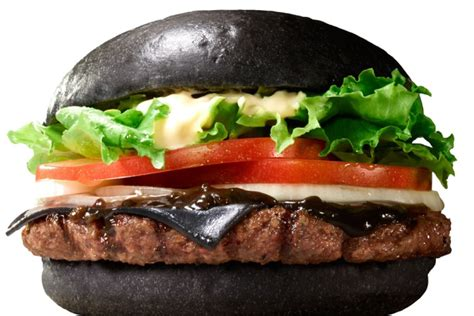 burger king burger king launches black burger with charcoal cheese new york post