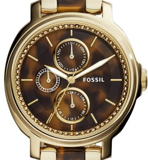 Fossil Chelsey Gold Es3923 s watches authentic fossil chelsey tortoise shell