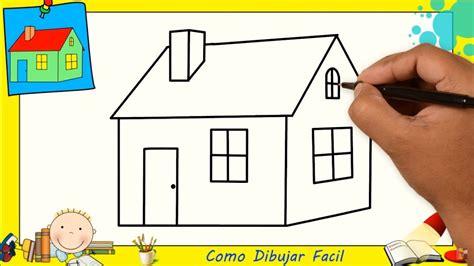 casa facil dibujos de casas faciles paso a paso para ni 241 os como