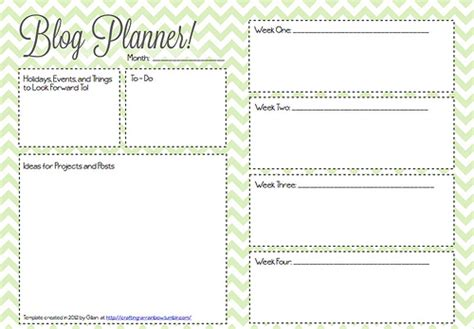 post planner template blogging and planning why i m about to go all