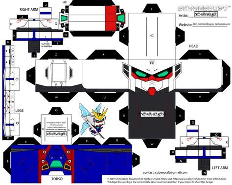 Paper Craft Gundam - thegundamfrog x gundam papercraft