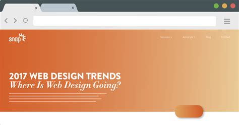 2017 website design trends 2017 web design trends where is web design going