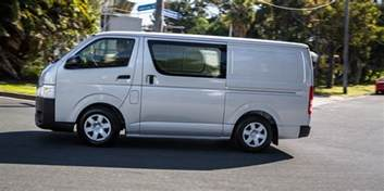 Hiace Toyota 2016 Toyota Hiace Lwb Review Caradvice