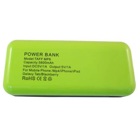 Power Bank Taff taff power bank 5200mah model mp5 for tablet and smartphone mp5 green black