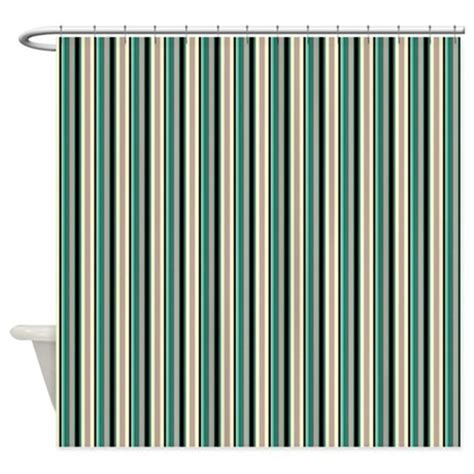 green striped shower curtain green striped pattern shower curtain by macarisina