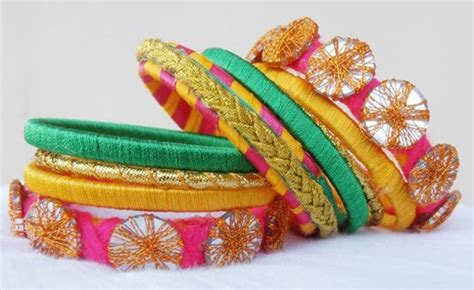 Handcrafted Bangles - trendy handmade bangles achi web