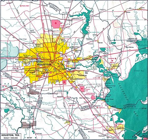 houston mapa houston plan de la ciudad mapas imprimidos de houston