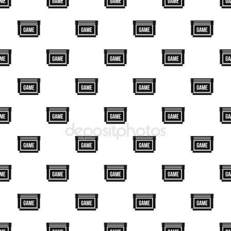 pattern to very simple game atari stock photos illustrations and vector art