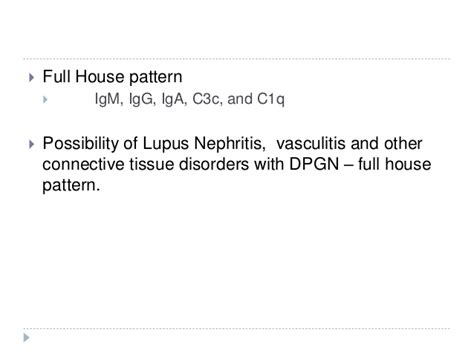 full house pattern renal biopsy unusual cause of renal failure