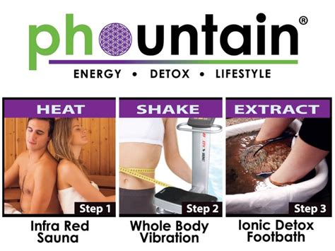 Phountain Detox Foot Bath by 35 For A Three Step Detox Program Including Whole