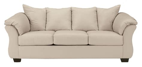 darcy sofa and loveseat signature design by ashley darcy stone 7500038
