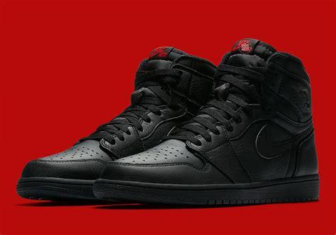 Nike Airjordan 1 Retro One Og Black Premium 1 air 1 retro high og black national