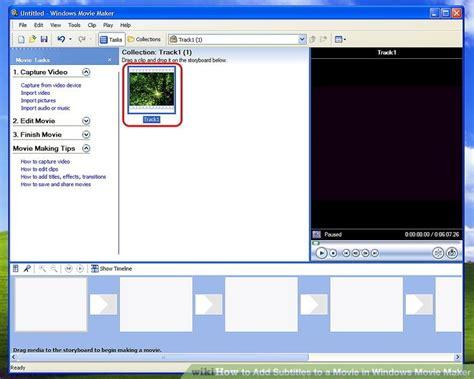 windows movie maker subtitles tutorial how to add subtitles to a movie in windows movie maker 8