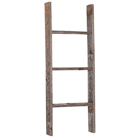 Wooden Ladder Bookcase Barnwoodusa Rustic 3 Foot Wooden Bookcase Ladder 100 Reclaimed Wood Weathered Gray