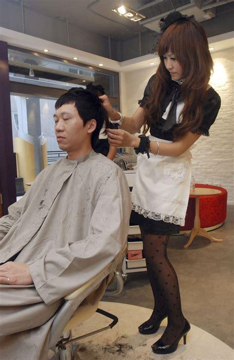 Japanese Hair Dresser by American Business Gallery