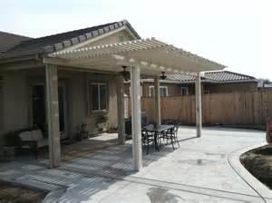 8 x 20 lattice patio cover