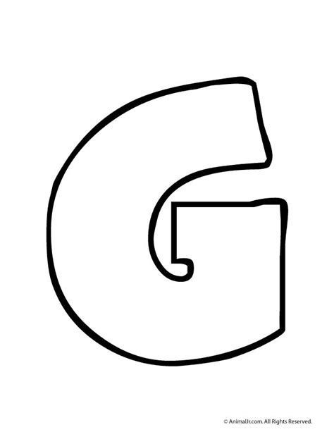 o m template 250 best images about letter on letter g