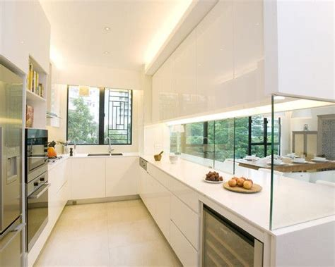 open galley kitchen designs open galley kitchen homes and architecture pinterest