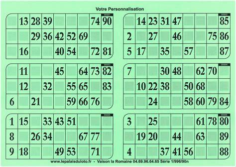 Grille De Bingo by Grille Tombola 224 Imprimer