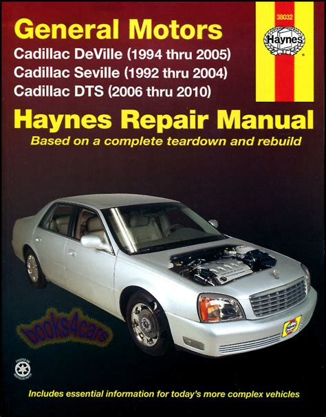 online car repair manuals free 2006 cadillac sts seat position control shop manual cadillac service repair haynes book chilton deville dts seville sts ebay