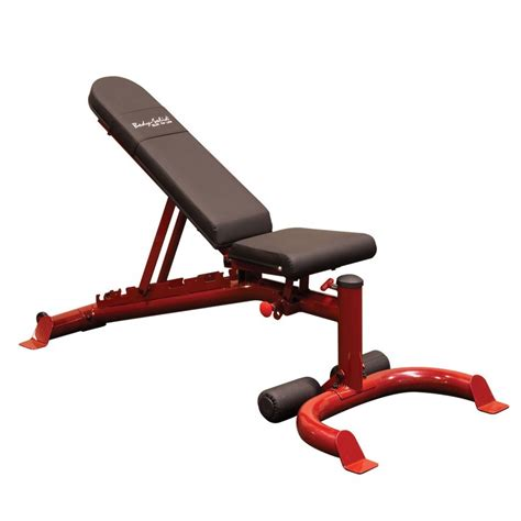 bench red body solid flat incline decline bench red