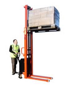 electric lift pallet stacker model vve 1000capacity 1000 kg